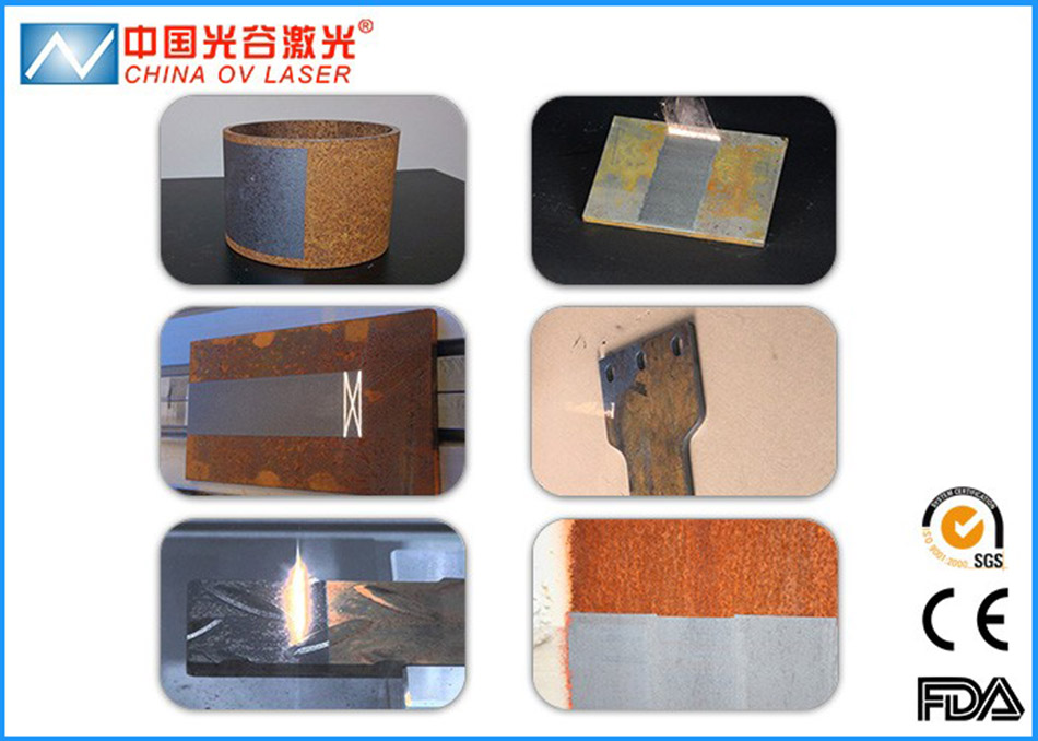 Surface Pretreatment Cleaning Laser Machine for Dirty Rust Paint Oxide Oil Removing