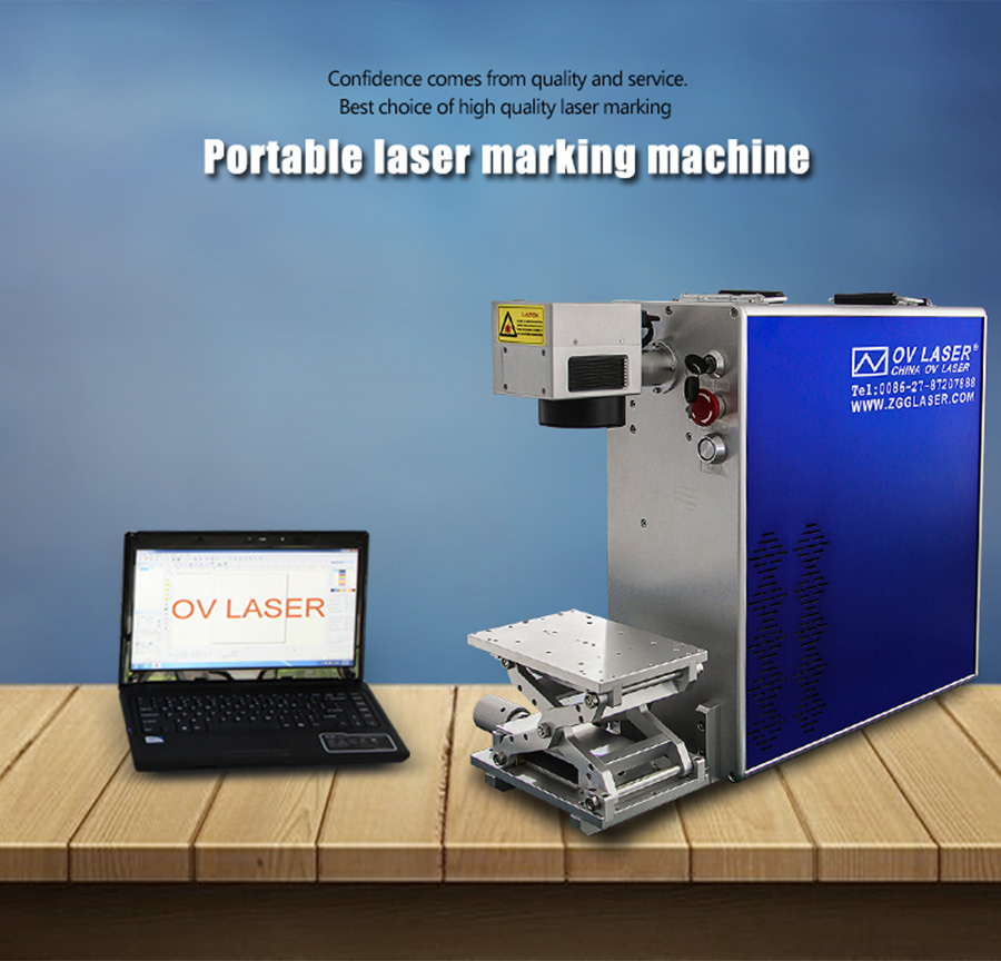 Hot Sale Chinese Factories 20W 50w Mini Metal Laser Marking Stainless Steel Fiber Laser Engraving Machine for sale