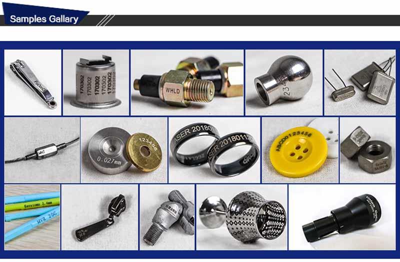Raycus 20w 30w 50w  fiber laser marking machine  engraving machine for metal