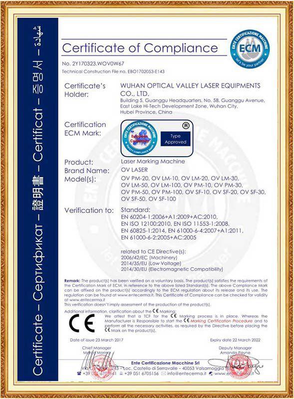 CE 2 OV laser