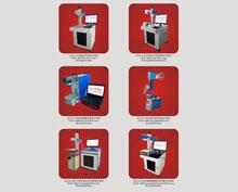 Fiber laser coding machine