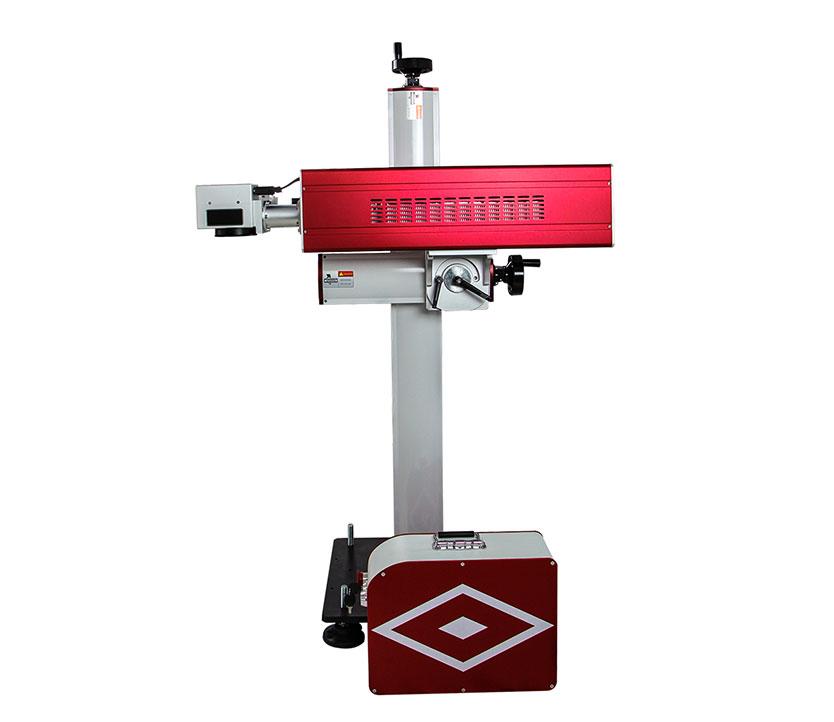 Modular design 30W CO2 Adjustable  Flying laser marking machine