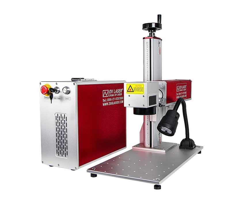 Industrial Fiber Metal Laser Marking Machine  Engraving machine For Stainless Steel Aluminum