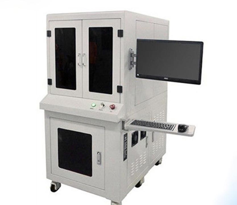 QR Code Logo  Metal Mini Foil 3D Laser Engraving Machine 3D Laser marking Machine  With CE