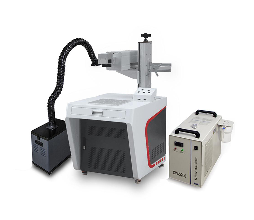 Floor Table Type 5W UV Laser Marking Machine for Plastic Glass Wood Acrylic Metal
