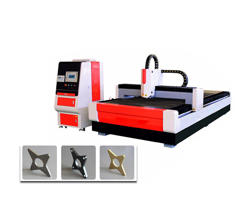 1KW CNC Fiber Laser Cutting Machine with IPG Coherent Raycus Fiber Laser Source