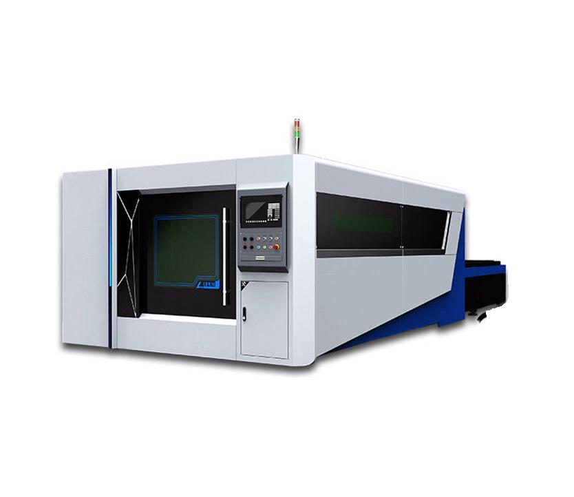300X1500 Fiber Laser Cutting Machine Full Enclosed Type 2000w with CE FDA