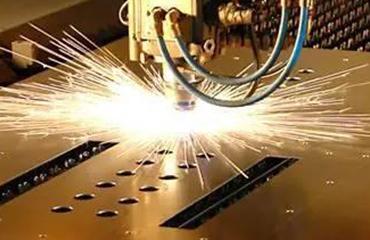 Laser cutting machine application