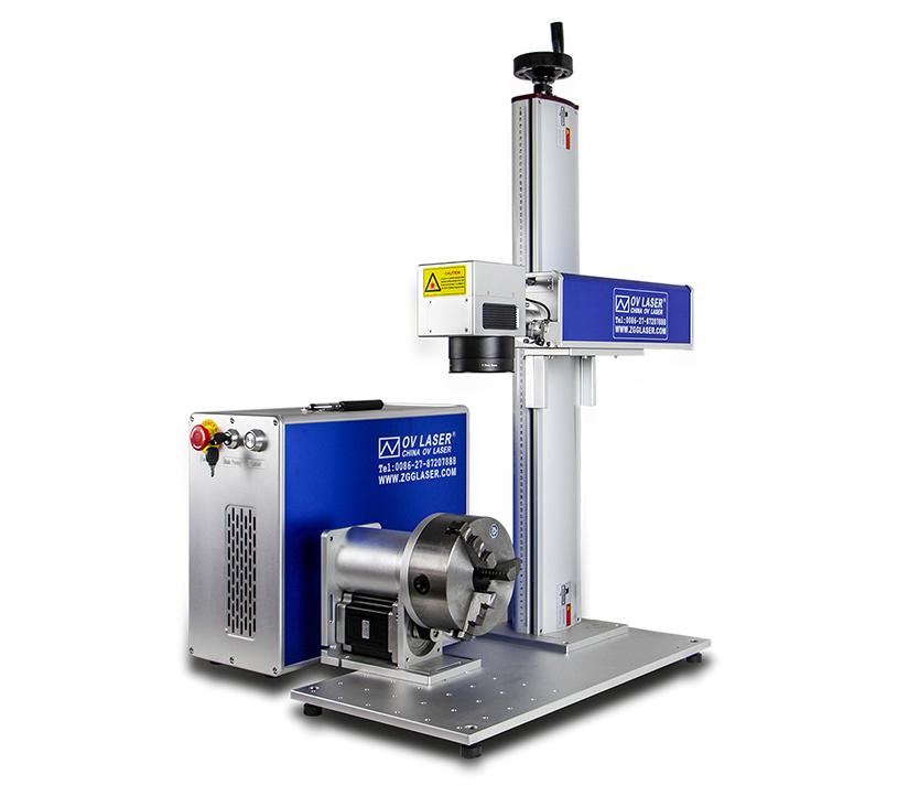 50w Fiber Laser Marking Machine for metals