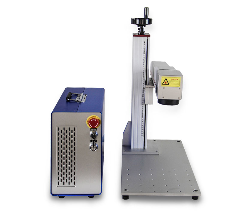 Factory Price Air Cooling MOPA JPT M6 30W Partial Plastic Metal Fiber Laser Marking Machine