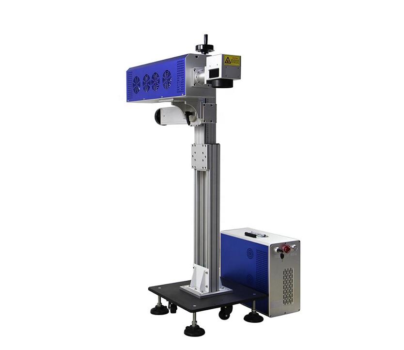 CO2 laser marking machine for glass bottle wood