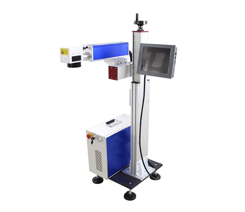 20W 30W 50W Laser Flying Fiber Laser Marking Machine For jewels