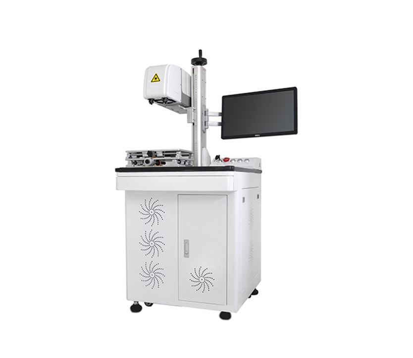 High Precision 3D   Laser Marking Machine On Metals And Non-metals