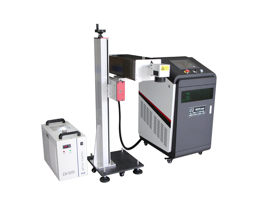Table Type UV 3W 5W Laser Marking Machine for PVC PP PET Plastic