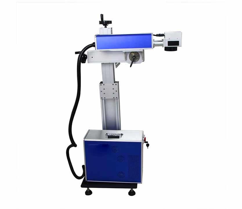 Adjustable laser engraving machine  fiber laser marking machine
