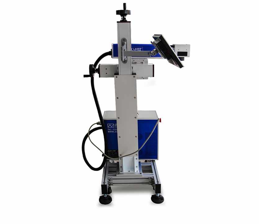 Raycus laser source  30w 50w adjustable  fiber laser marking machine