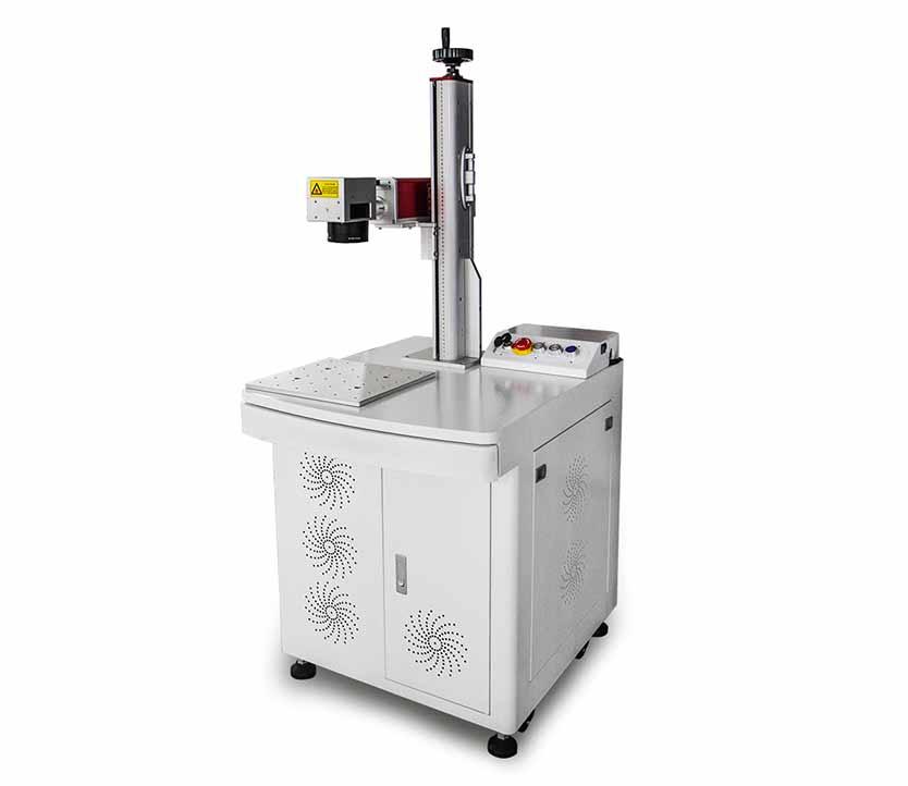 3d Air Cooling MOPA JPT M6 30W Partial Plastic Metal Fiber Laser Marking Machine