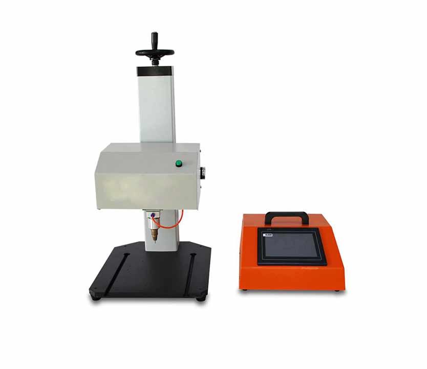 Pneumatic Marking Machine Dot Peen   Marking Machine  for Pump Nameplate