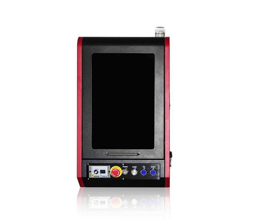 color mopa metal fiber laser marking machine